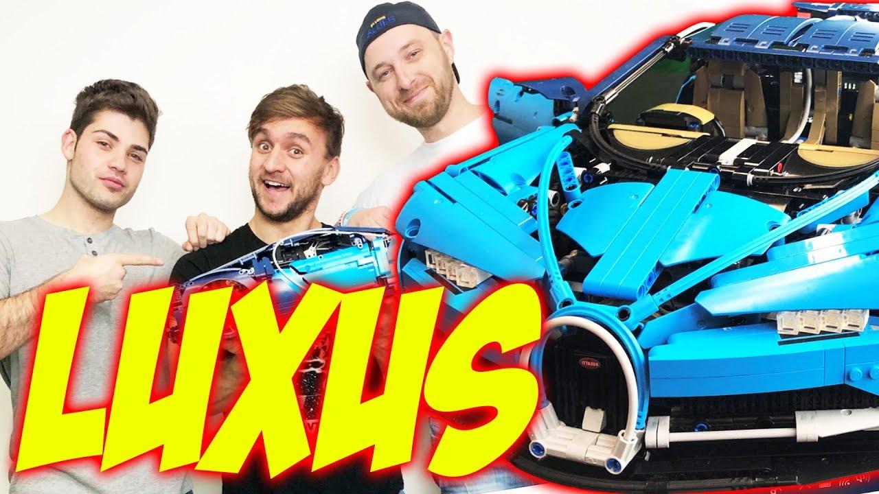 LEGOchallenge, Kdo dřív složí Bugatti Chiron? | Tary vs. Silly Toons