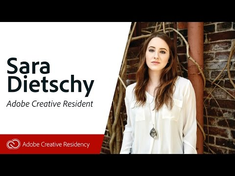 Sara Dietschy - Adobe Creative Resident - Live on Twitch.tv/adobe
