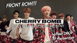 Video 170625 NCT 127 『 CHERRY BOMB 🍒💣 』 @ APPLE STORE IN NEW YORK | THE DROP RIGHT IN FRONT OF ME OMG download MP3, 3GP, MP4, WEBM, AVI, FLV Januari 2018