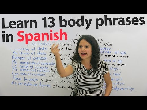 13 Funny & Not Funny Spanish Phrases Using Body Parts