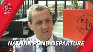 Andy Pilley on Pondy Departure | Interview