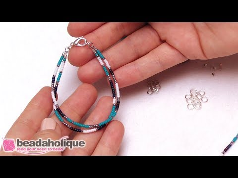 How to Make a Simple Beaded Friendship Bracelet