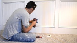 You Must Do this When Installing Wainscot