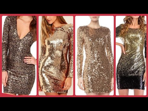 outstanding funk town dress in gold sequins bronze open back plunge sequins rompers jumpsuits ideas