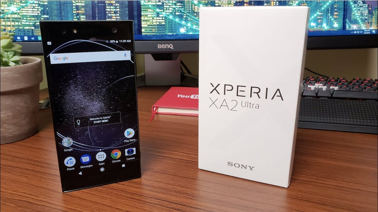 Sony Xperia XA2 Ultra Unboxing! - YouTube