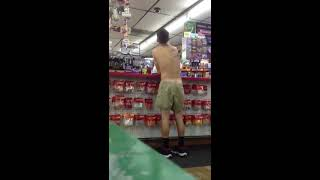 Repeat youtube video Buying condoms naked
