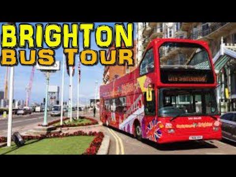 Brighton CitySightseeing Bus Tour 4K