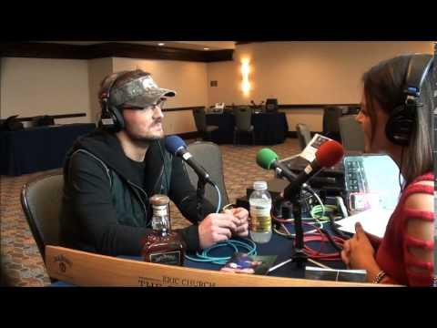 eric church sat down and talked with angella sharpe of WIl about his latest album the outsiders