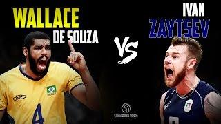 Wallace de Souza VS Ivan Zaytsev || Volleyball Battle