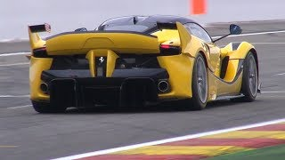 $3.0 Million Ferrari FXX K - INSANE V12 EXHAUST SOUNDS!