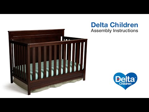 Delta Children Princeton|Geneva|Prescott 3-in-1 Crib Assembly Video