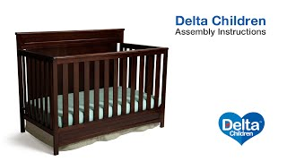 Delta Children Princeton & Geneva 3-in-1 Crib Assembly Video