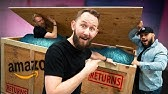 Unboxing a GIANT Amazon Return Crate Full of Tech Gadgets!