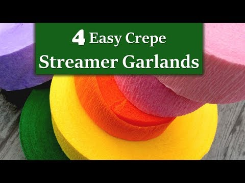 4 must try crepe steamer DIY crafts | Diwali Decoration Idea