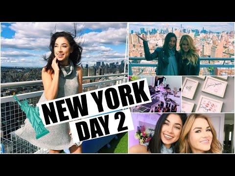 New York Day 2 - Maybeline & Elf Party, Shopping in SoHo!