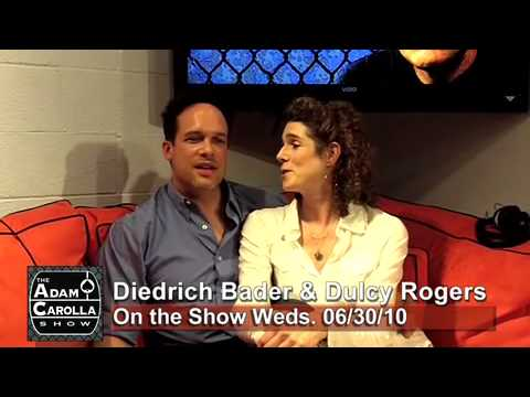 Diedrich Bader & Dulcy Rogers on the Adam Carolla  062910