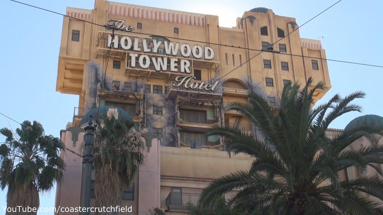 The Twilight Zone Tower Of Terror Hd Full Pov Disney