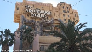 The Twilight Zone Tower of Terror (HD Full POV) Disney California Adventure