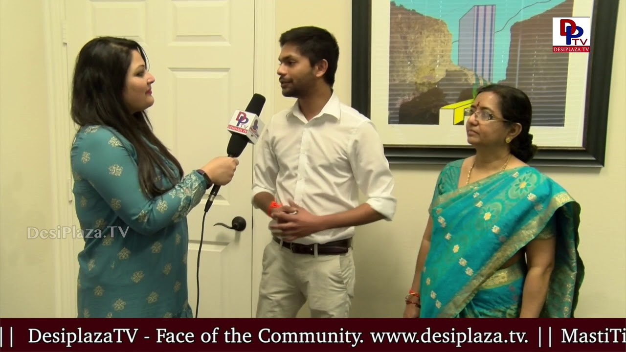 Aditya from SriKrishna Jewellers speaks to DesiplazaTV at SriKrishna Jewellers public display show