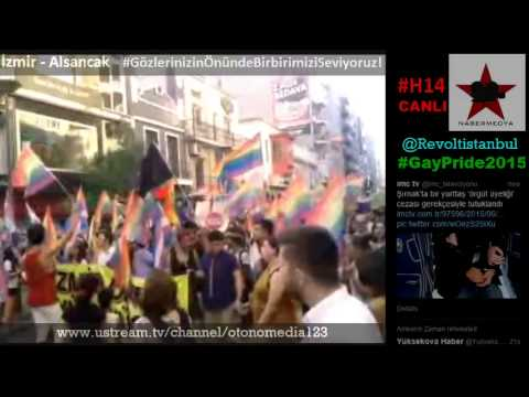Onur Yürüyüşü 2015 / İzmir Pride / GayPride2015 Alsancak-İzmir