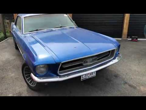 For Sale: 1967 Blue Ford Mustang V8 Auto PROJECT