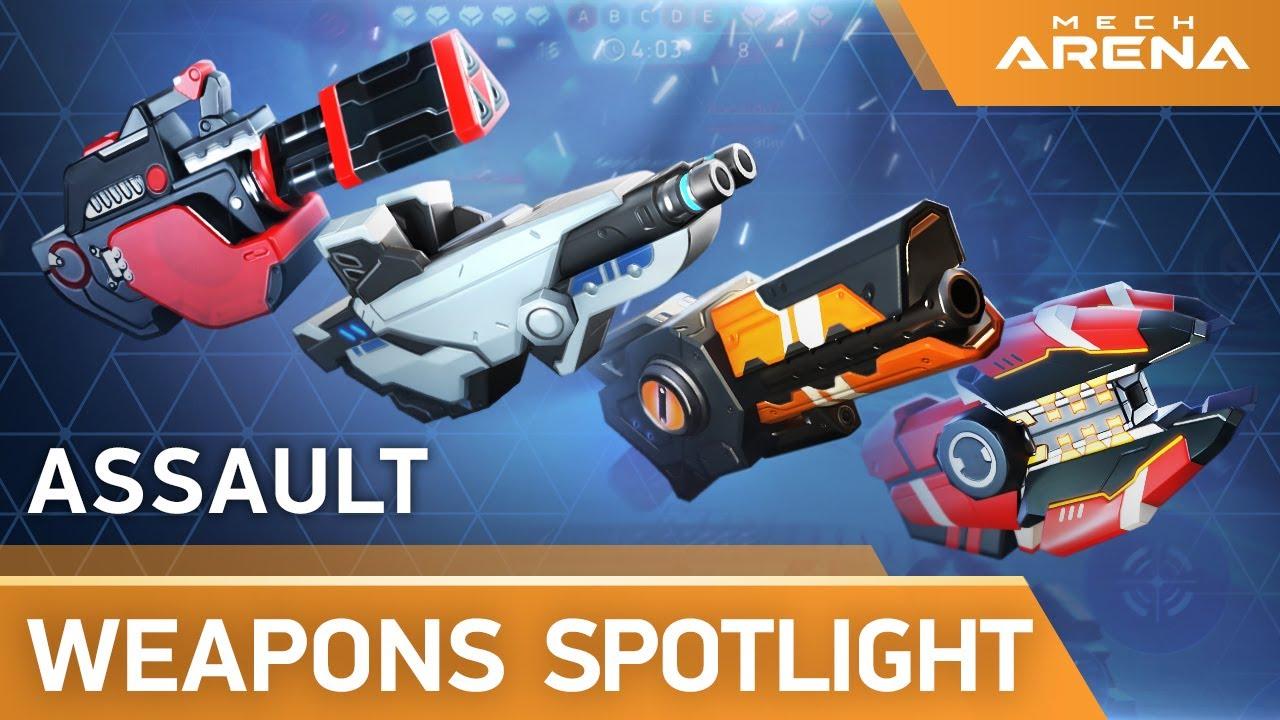 Mech Arena | Weapon Spotlight | Assault Weapons