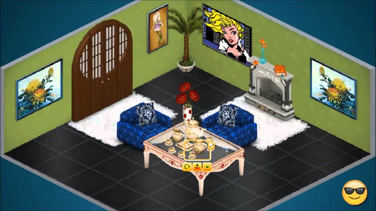 Гостиная в аватарии