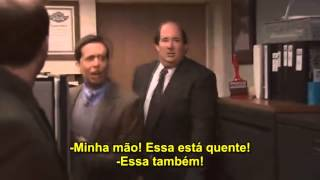 Dwight coloca fogo no escritório (Dwight's Fire Drill) - The Office | Legendado (PT/BR)