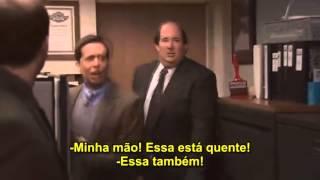 Dwight coloca fogo no escritório (Dwight's Fire Drill) - The Office | Legendado (PT/BR)