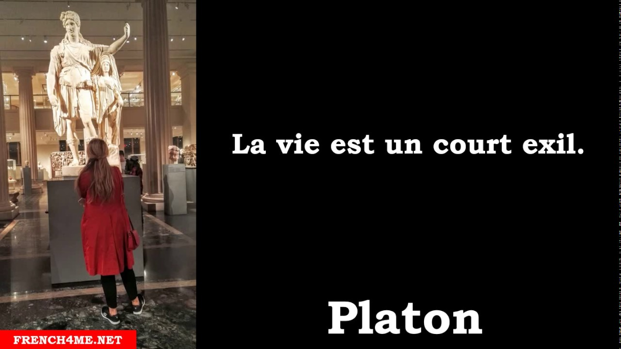 Citation Philosophique La Vie Est Un Court Exil