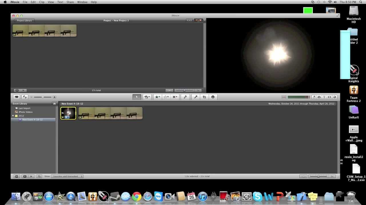 How to add gun shot effects in iMovie | How to remove black box iMovie - YouTube