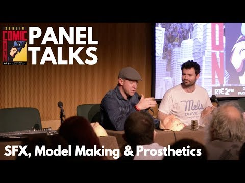 SFX Panel with Tom McInerney and Mark Maher | Dublin Comic C