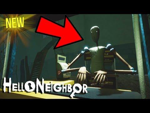 GETTING INSIDE THE GOLDEN APPLE MARKET! | Hello Neighbor Beta Secrets