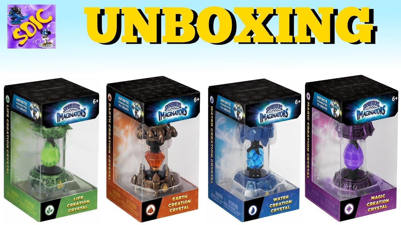 NEW UNBOXING Skylanders Imaginators 4 Various CREATION ...