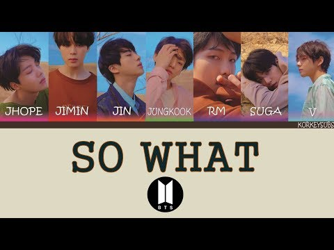 BTS - So What (Türkçe Altyazılı/Turkish Subs)