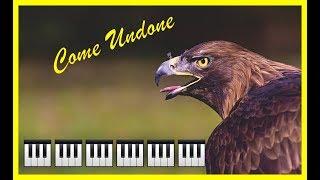 Robbie Williams - Come Undone 📌 Best Piano Cover