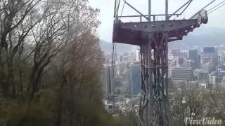 How to get Free Namsan Tower Cable Car Station Bus Shuttle
