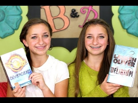 Divergent And Delirium Book Reviews | Brooklyn And Bailey
