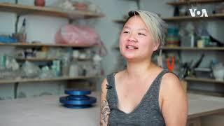以亚洲食物为题材的纽约陶瓷艺术家