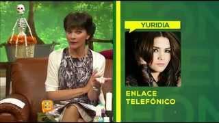YURIDIA calla a Paty Chapoy [Octubre-29-2014]