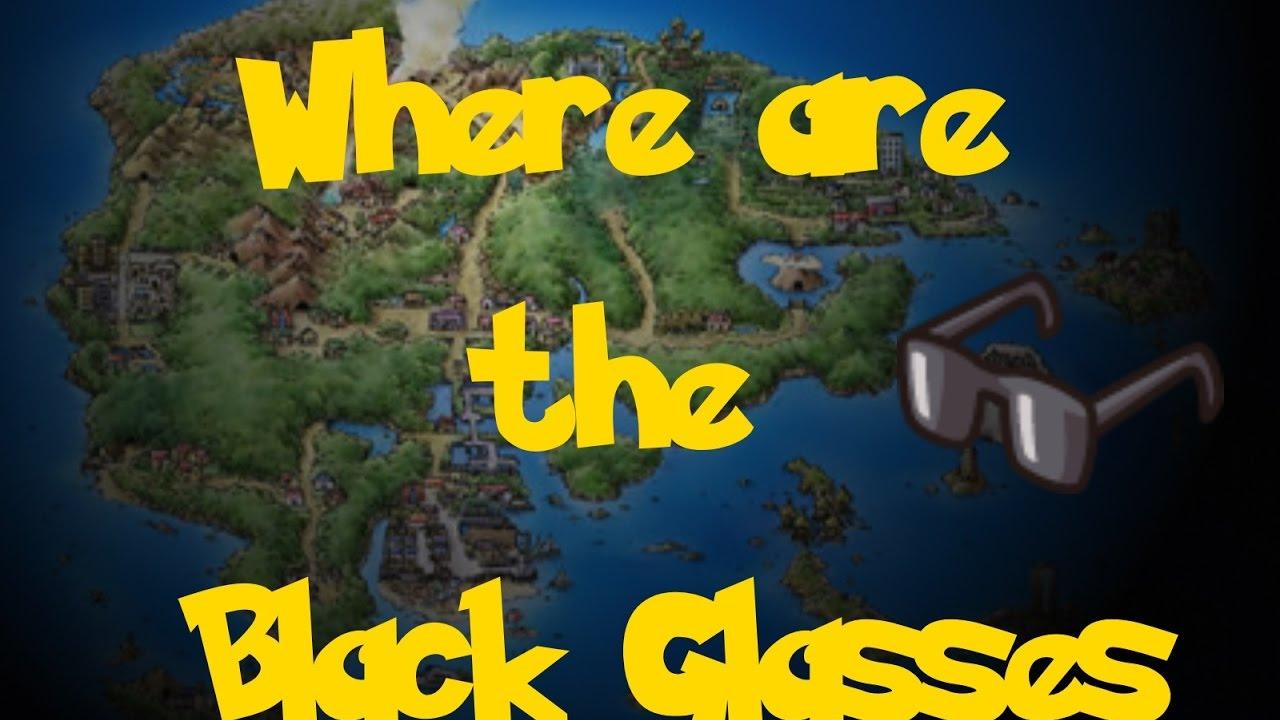 ca5ce888f857 Where Are  The Black Glasses (Pokemon Sapphire Ruby Emerald) - YouTube