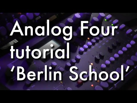 Elektron Analog 4 tutorial 4 - how to do Berlin School sounds