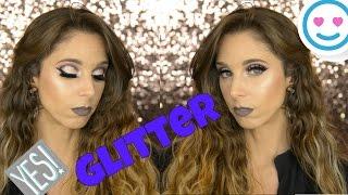 Semi Cut Crease con glitter -