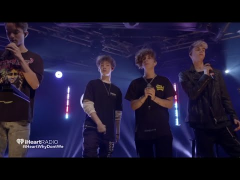 Why Don't We (Hooked live) IHeartRadio