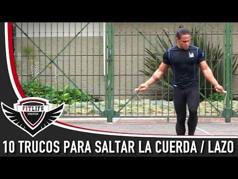 10 Trucos para saltar la Cuerda / Lazo - 10 Jump Rope Excercises