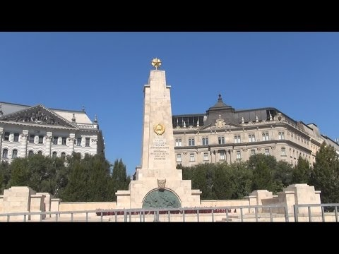 Liberty Square / Szabadság tér / Plac Wolności, Budapest, Hungary / Magyarország / Węgry