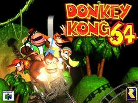 Donkey Kong 64 - Mad Jack (Factory Boss) - YouTube  Donkey Kong 64 ...