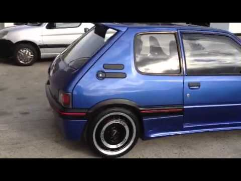 peugeot 205 d turbo resurrected youtube. Black Bedroom Furniture Sets. Home Design Ideas