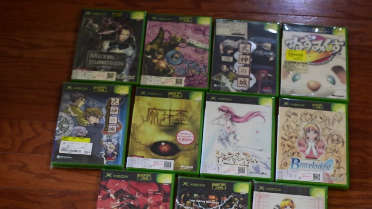 Original Xbox Games For Xbox : Japanese import original xbox game pick ups and haul youtube