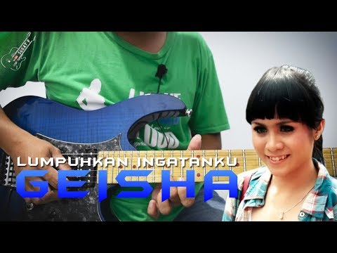 Tutorial Gitar Melodi GEISHA - Lumpuhkan Ingatanku By Sobat P Mudah Di Pahami